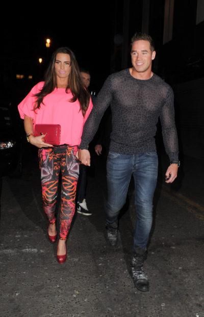 Katie Price with ex-husband Kieran Hayler