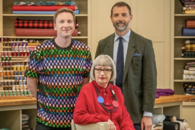 Joe Lycett returns with judges Esme Young and Patrick Grant