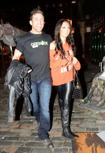 Alex Reid may miss the birth of his daughter