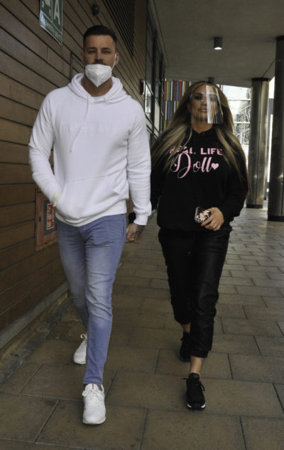 Carl Woods and Katie Price got engaged earlier this week