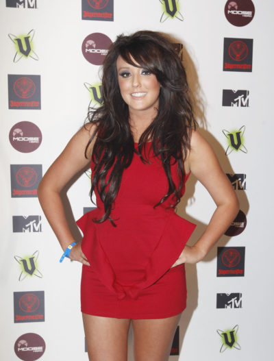 Charlotte Crosby as she looked during her early years on Geordie Shore (Credit: Splash)
