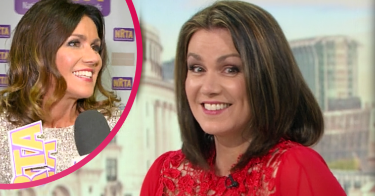 Susanna Reid admitted she put on weight during lockdown