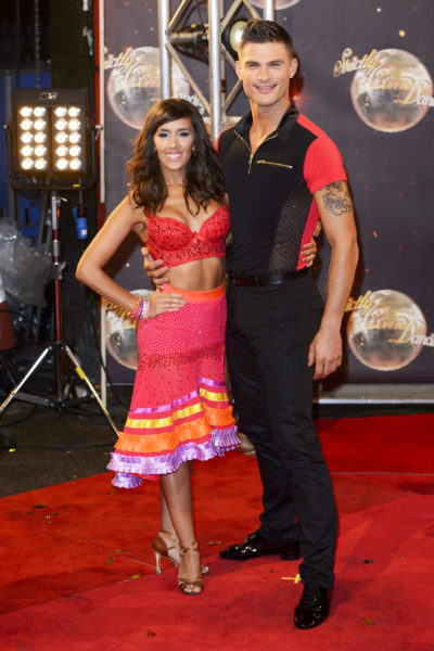 Aljaz and Janette at SCD launch