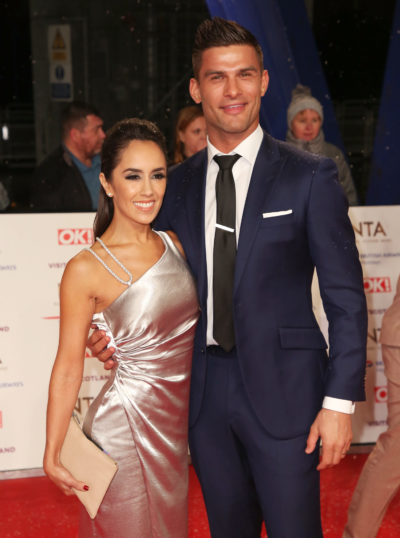 Aljaz and Janette at price of britain awards