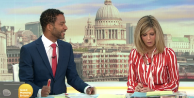 Kate Garraway has been called out by viewers for messing up a social media poll