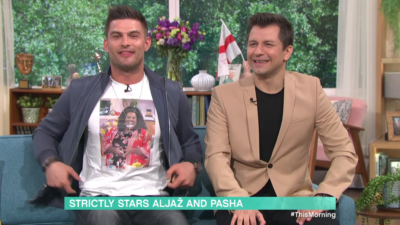 Aljaz revealed his gift to Alison on This Morning