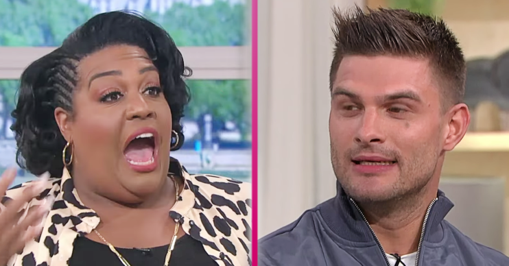 Alison Hammond and Aljaz on This Morning