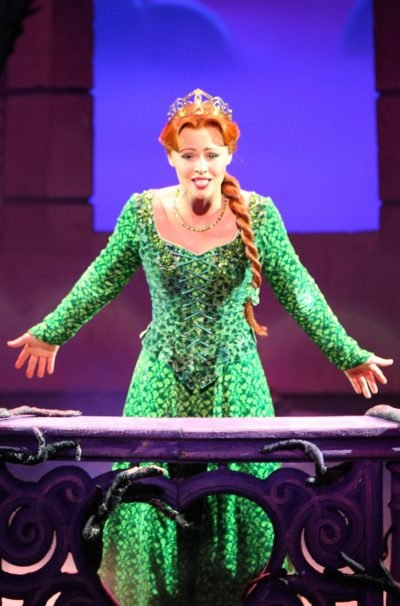 Girls Aloud Singer Kimberley Walsh took on the lead role in Shrek