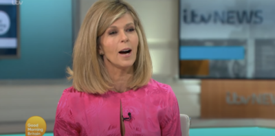 Kate Garraway has opened up about husband Derek's texts before his coma