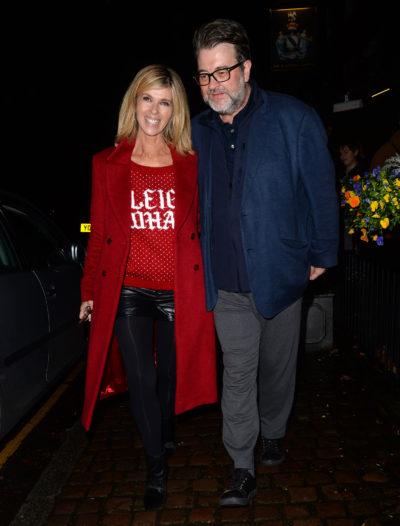 Kate and husband Derek have two children together
