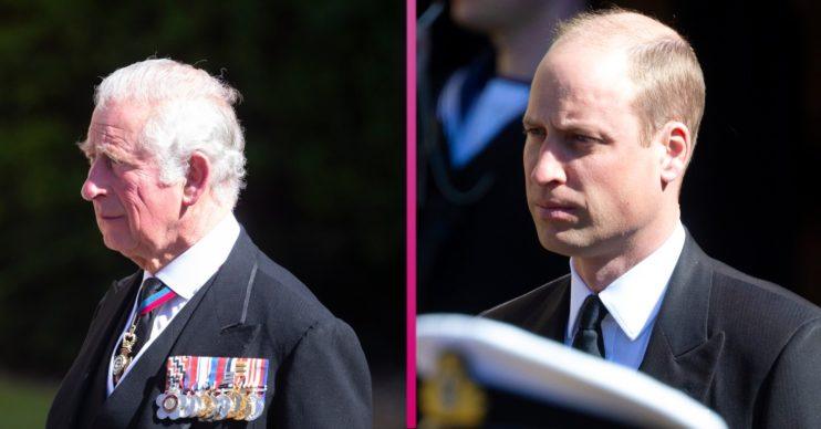 Prince William and Prince Charles have become. closer since the royal funeral