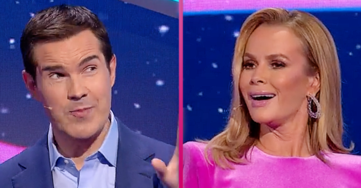 Amanda Holden was savaged by Jimmy Carr on I Can See Your Voice