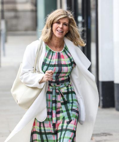 Kate Garraway said David Beckham sent messages of support