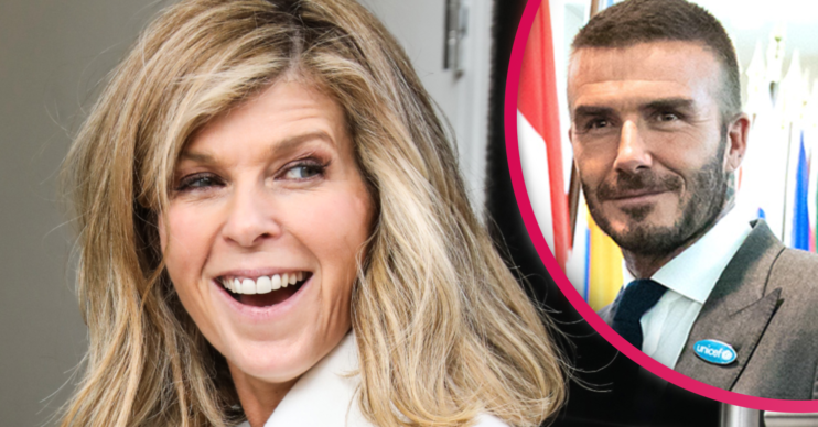 Kate Garraway said David Beckham sent messages of support