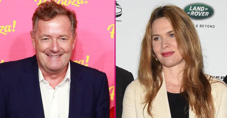 Piers Morgan and wife Celia