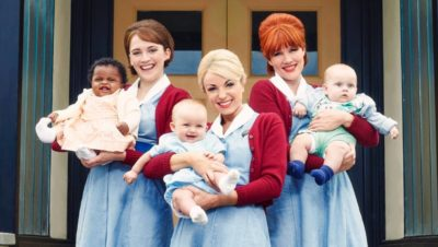 Emerald Fennell as Patsy in Call the Midwife
