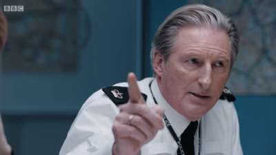 Ted Hastings in episode six of Line Of Duty
