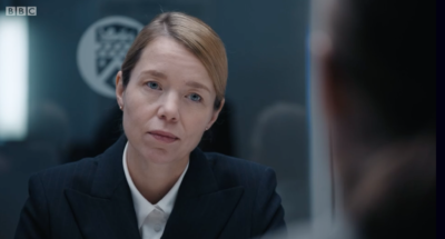 Patricia Carmichael in episode six of Line Of Duty