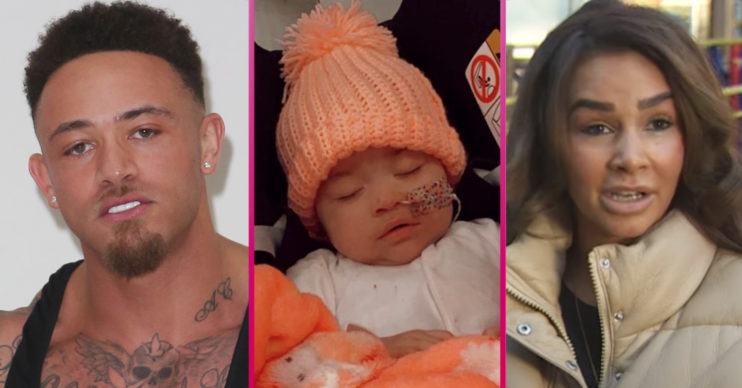 Ashley Cain baby daughter