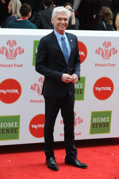 Phillip Schofield on the red carpet