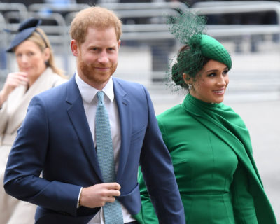 Prince Harry and Meghan have seen a drop in their popularity