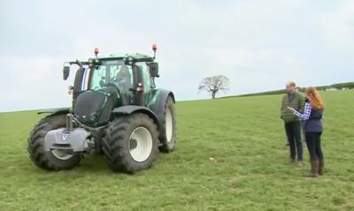 Kate Middleton on a tour of a County Durham farm