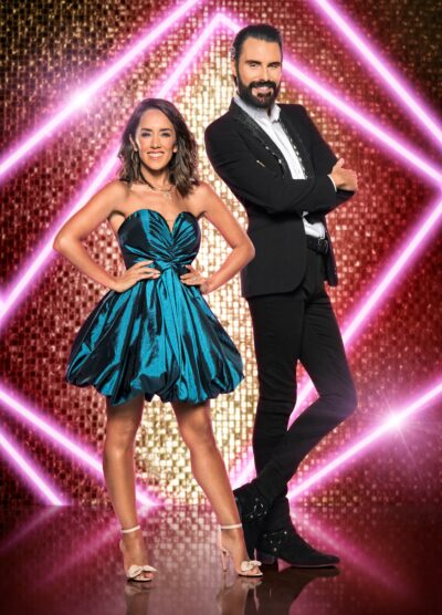 Strictly star Janette Manrara and Rylan Clark-Neal on It Takes Two