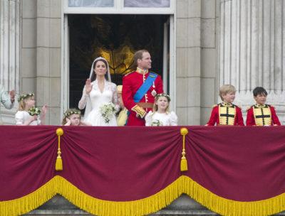 royal wedding balcony