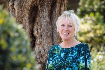 Carol Klein hosting Gardeners' World on BBC one