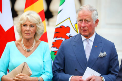 Charles and camilla at an event