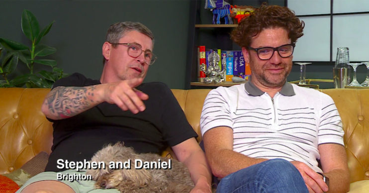 Stephen Webb on Gogglebox