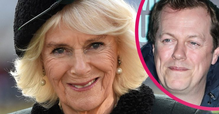 Camilla Duchess of Cornwall and her son Tom Parker Bowles