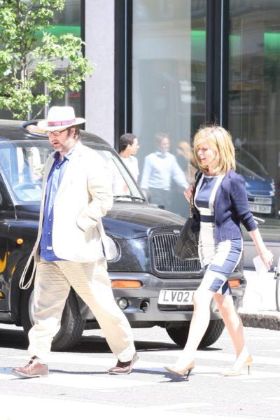 Kate Garraway and husband Derek have two children together