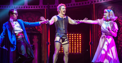 The Cast Of Rocky Horror Perform At The Melbourne Preview