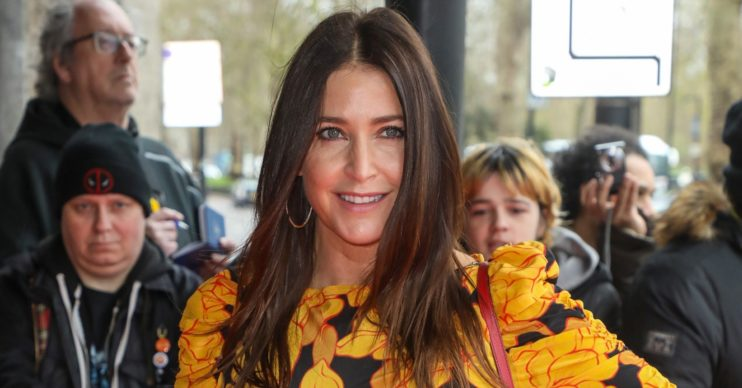 Lisa Snowdon showed off her 'self-care' regime from her shower!