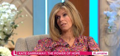 Kate Garraway speaks about husband Derek on Lorraine