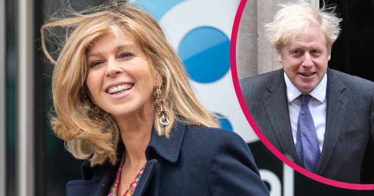 Kate Garraway received a message of support from Boris Johnson