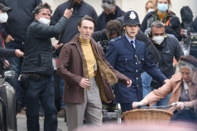 Harry Styles and David Dawson star as lovers in My Policeman (Credit: Splash)