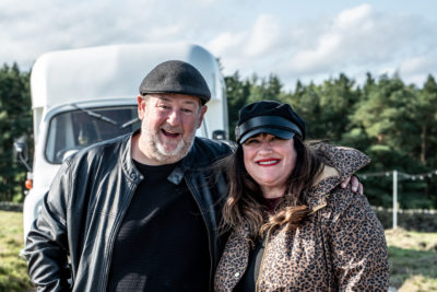 Johnny Vegas Beverley Dixon Carry On Glamping