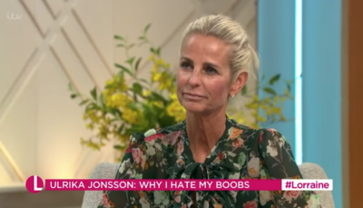 Ulrika Jonsson responds to fan about her weight