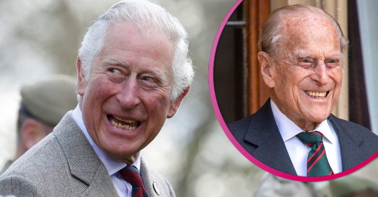 Prince Charles and Philip