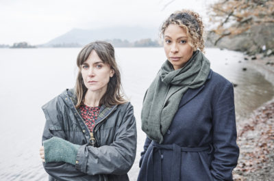 Laura Rollins as Paine and Katherine Kelly as Sally in Innocent series two (Credit: ITV1)