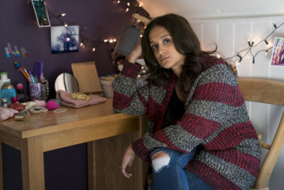 Amy-Leigh Hickman as Bethany in Innocent series two (Credit: ITV1) This image is tiger copyright of ITV and is for use only for publicity relating to Innocent series 2. For further information please contact Patrick.smith@itv.com