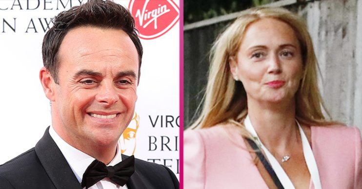 Ant McPartlin and fiancée Anne-Marie Corbett