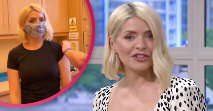 holly Willoughby vaccine