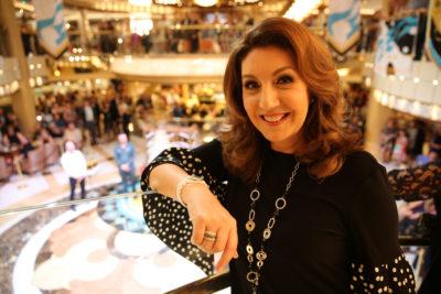presenter and singer Jane McDonald