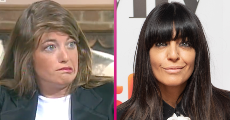 Claudia Winkleman throwback video