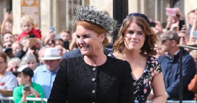 Sarah Ferguson with Princess Eugenie