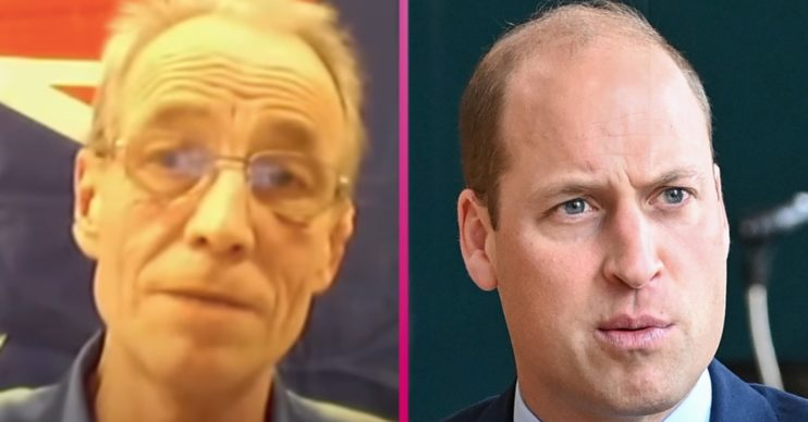 Prince William and Simon Dorante-Day