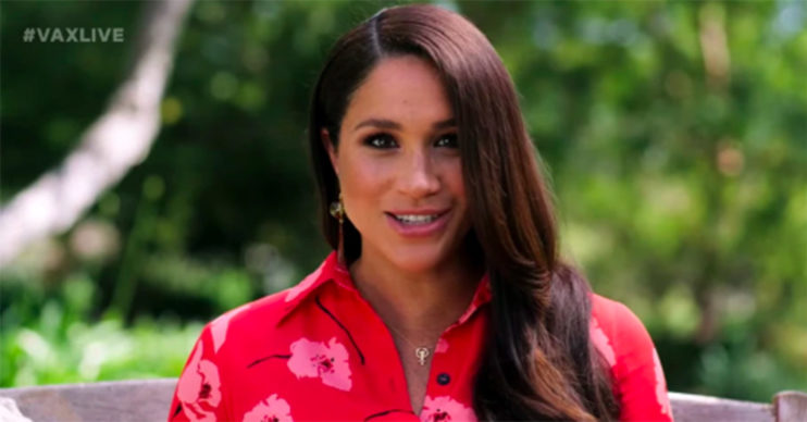 Meghan Markle vaccine speech May 2021